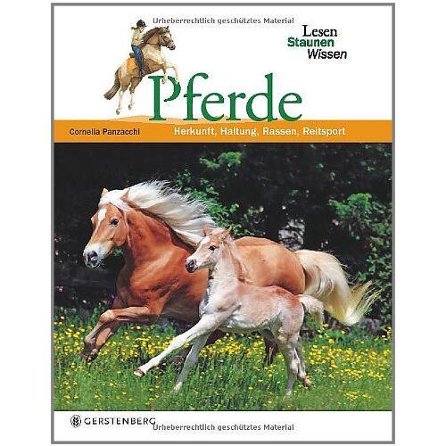 Cornelia Panzacchi - Pferde. Lesen Staunen Wissen - Preis vom 13.06.2021 04:45:58 h