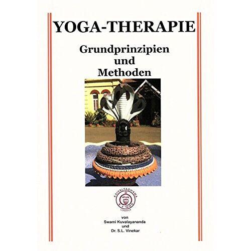 Swami Kuvalayananda - Yoga-Therapie Grundprinzipien und Methoden - Preis vom 15.10.2021 04:56:39 h