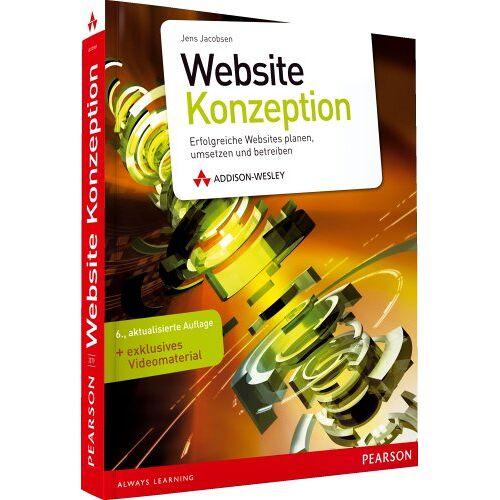 Jens Jacobsen - Website-Konzeption - Website-Konzeption: Erfolgreiche Websites planen, umsetzen und betreiben, 6. Auflage (DPI Grafik) - Preis vom 09.06.2021 04:47:15 h