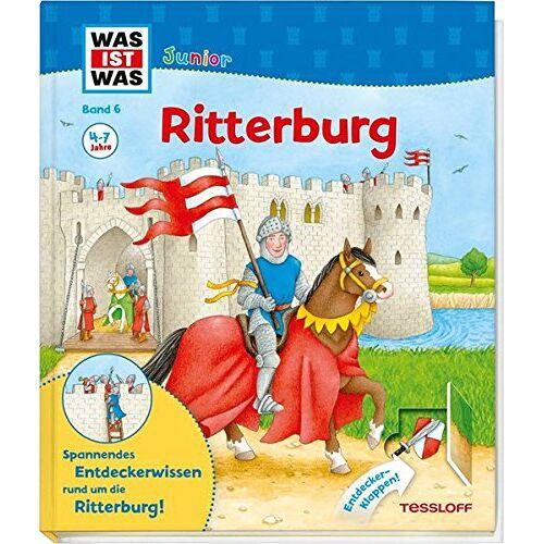 Martin Stiefenhofer - WAS IST WAS Junior Band 6. Ritterburg: Wie sieht es auf der Ritterburg aus? Was macht ein Ritter in seiner Freizeit? Wer arbeitet auf einer Burg? (WAS IST WAS Junior Sachbuch, Band 6) - Preis vom 02.08.2021 04:48:42 h