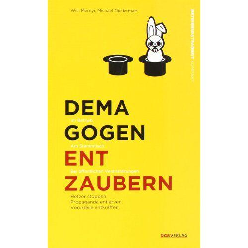 Willi Mernyi - Demagogen entzaubern - Preis vom 23.07.2021 04:48:01 h