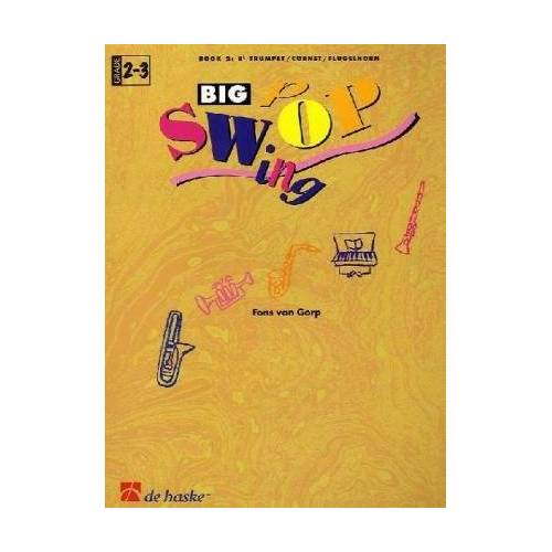 Fons van Gorp - Big Swop, für Trompete / Kornett / Flügelhorn, m. Audio-CD - Preis vom 21.06.2021 04:48:19 h