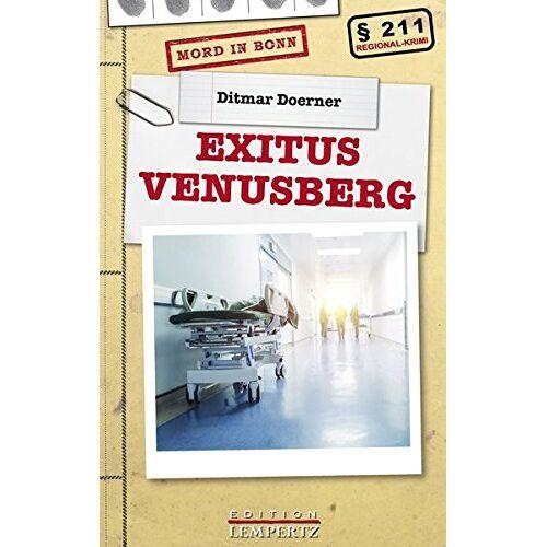 Ditmar Doerner - Exitus Venusberg (Regional-Krimi) - Preis vom 11.06.2021 04:46:58 h