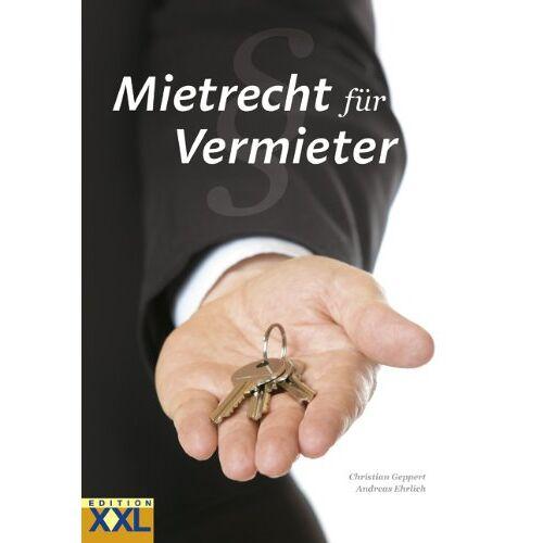Christian Geppert - Mietrecht für Vermieter - Preis vom 14.06.2021 04:47:09 h