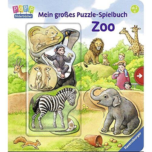 Anne Möller - Mein großes Puzzle-Spielbuch Zoo - Preis vom 03.08.2021 04:50:31 h