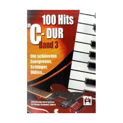 Gerhard Hildner - 100 Hits in C-Dur, für Klavier, Keyboard, Gitarre - Preis vom 12.06.2021 04:48:00 h