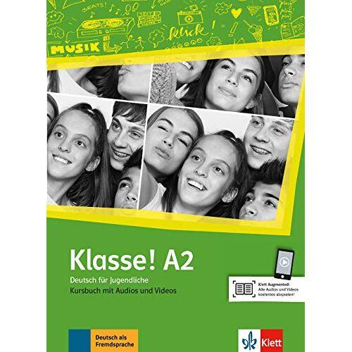 Sarah Fleer - Klasse! A2: Deutsch für Jugendliche. Kursbuch mit Audios und Videos online (Klasse! / Deutsch für Jugendliche) - Preis vom 16.06.2021 04:47:02 h