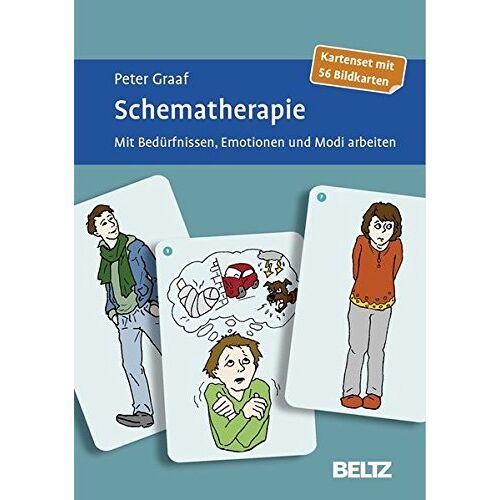 Peter Graaf - Schematherapie: Mit Bedürfnissen, Emotionen und Modi arbeiten. Kartenset mit 56 Bildkarten - Preis vom 22.09.2021 05:02:28 h