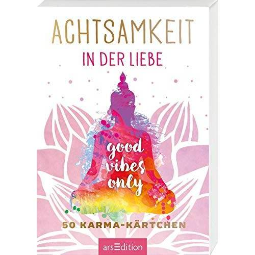 - Achtsamkeit in der Liebe: 50 Karma-Kärtchen (Achtsamkeitskärtchen) - Preis vom 01.08.2021 04:46:09 h
