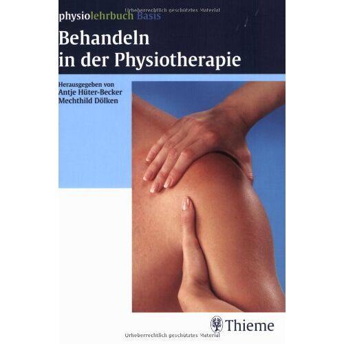 Becker Behandeln in der Physiotherapie - Preis vom 01.08.2021 04:46:09 h