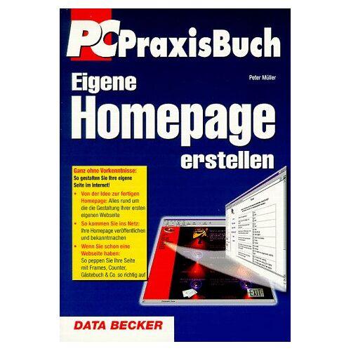 Peter Müller - Eigene Homepage erstellen - Preis vom 18.06.2021 04:47:54 h