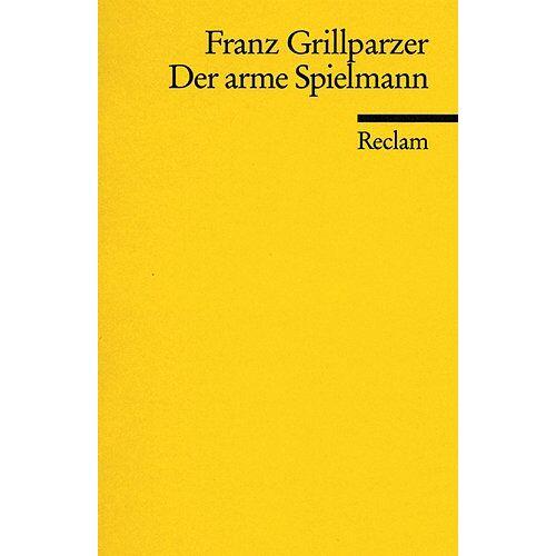 Franz Grillparzer - Der arme Spielmann - Preis vom 11.06.2021 04:46:58 h