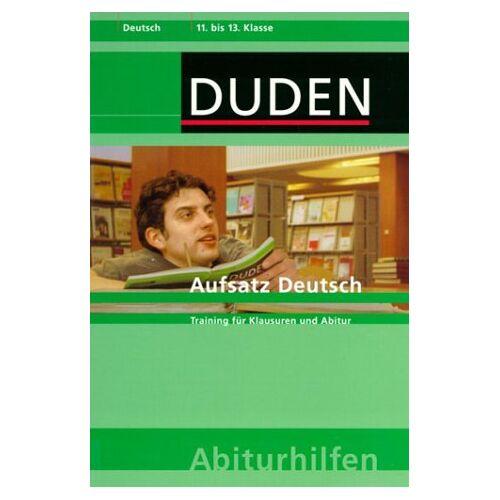 Diethard Lübke - Duden Abiturhilfen, Der deutsche Aufsatz - Preis vom 11.10.2021 04:51:43 h