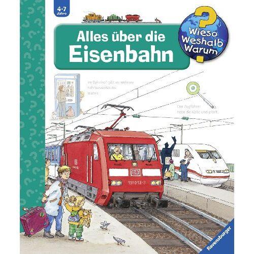 Patricia Mennen - Wieso? Weshalb? Warum? 8: Alles über die Eisenbahn - Preis vom 13.09.2021 05:00:26 h