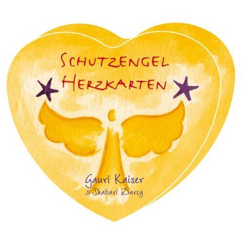 Kaiser Schutzengel-Herzkarten: 49 farbige Herzkarten im Format 9 X 10 cm in Herzbox - Preis vom 11.06.2021 04:46:58 h