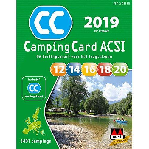 ACSI - ACSI CampingCard set 2019 (ACSI Campinggids) - Preis vom 13.10.2021 04:51:42 h