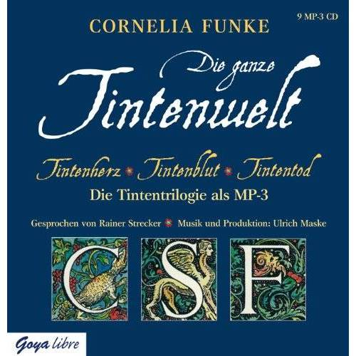 Funke Tintenwelt - mp3-Ausgabe: Tintenherz, Tintenblut, Tintentod - Preis vom 17.06.2021 04:48:08 h