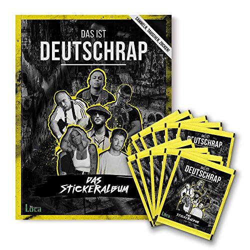 Das ist Deutschrap - Bundle (Heft + 10 Stickertüten)   Panini Sticker- & Sammelalbum - Preis vom 19.06.2021 04:48:54 h