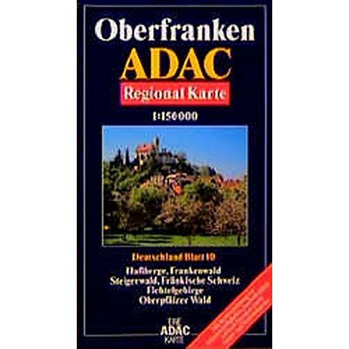- ADAC Karte, Oberfranken - Preis vom 21.06.2021 04:48:19 h