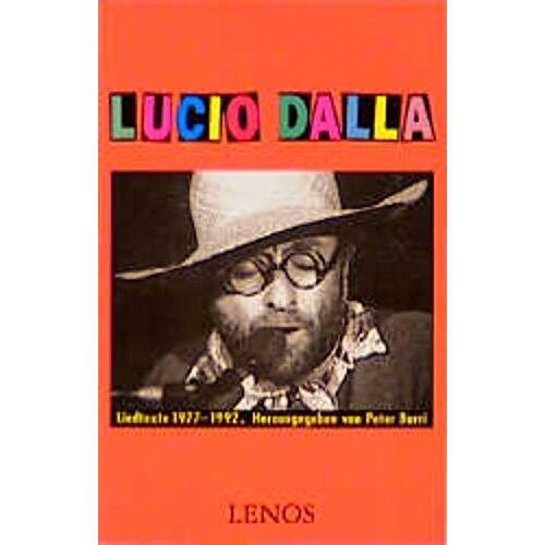 Lucio Dalla - Lucio Dalla. Liedtexte 1977-1992 - Preis vom 18.06.2021 04:47:54 h