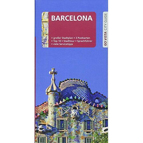 Karoline Gimpl - GO VISTA: Reiseführer Barcelona: Mit Faltkarte und 3 Postkarten - Preis vom 15.06.2021 04:47:52 h