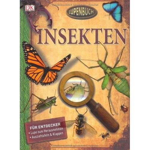 Mit Lupe zum Herausnehmen - Lupenbuch: Insekten - Preis vom 26.07.2021 04:48:14 h