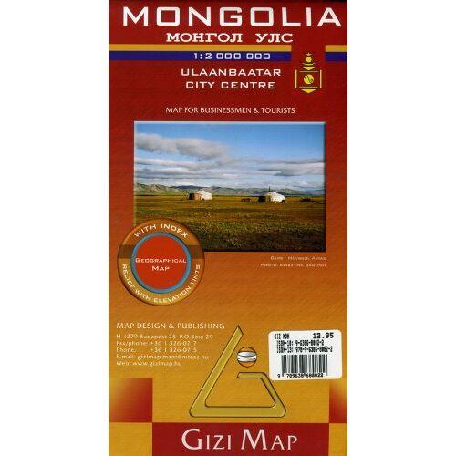 Gizi Map - Mongolia - Preis vom 15.06.2021 04:47:52 h