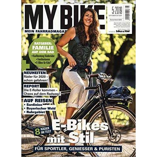 My Bike - My Bike 5/2019 E - Bikes mit Stil - Preis vom 10.09.2021 04:52:31 h