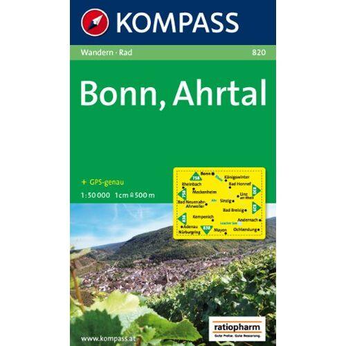 - Bonn, Ahrtal: Wandern / Rad. GPS-genau. 1:50.000 - Preis vom 26.07.2021 04:48:14 h