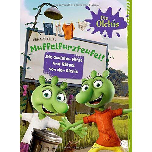 Erhard Dietl - Muffelfurzteufel!: Die coolsten Witze und Rätsel von den Olchis (Die Olchis) - Preis vom 16.10.2021 04:56:05 h