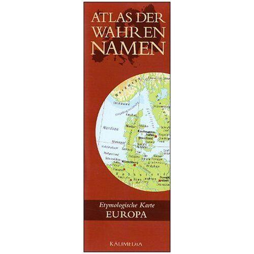 Stephan Hormes - Atlas der Wahren Namen - Europa: Etymologische Karte - Preis vom 13.06.2021 04:45:58 h