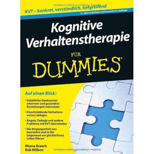 Rob Willson - Kognitive Verhaltenstherapie für Dummies (Fur Dummies) - Preis vom 15.06.2021 04:47:52 h