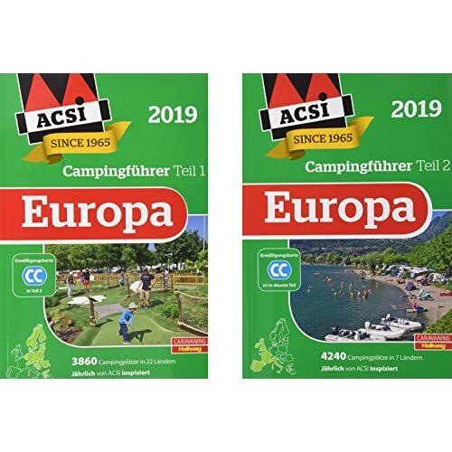 Kai Feyerabend - ACSI Internationaler Campingführer Europa 2019: in 2 Bänden inkl. Ermässigungskarte und ACSI Camping Europa-App Rabattcode. (Hallwag Promobil) - Preis vom 14.06.2021 04:47:09 h