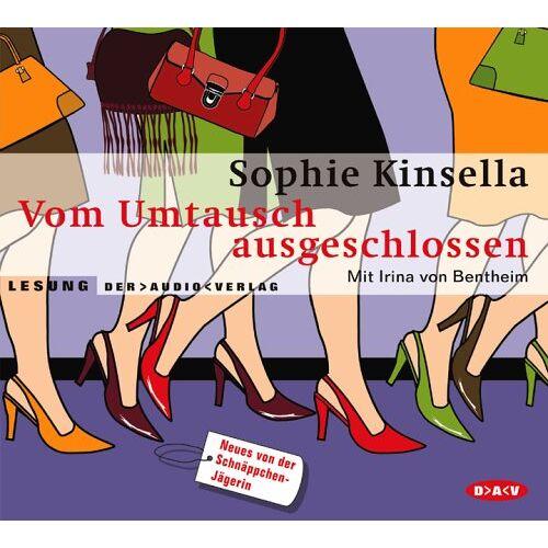 Sophie Kinsella - Vom Umtausch ausgeschlossen. 2 CDs - Preis vom 14.06.2021 04:47:09 h