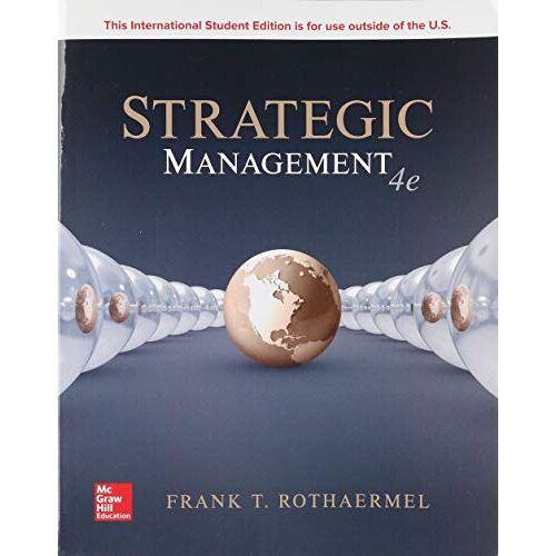 Rothaermel, Frank T. - Strategic Management - Preis vom 11.06.2021 04:46:58 h