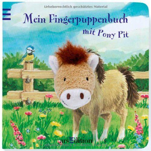 Andrea Gerlich - Mein Fingerpuppenbuch mit Pony Pit (Fingerpuppenbücher) - Preis vom 15.10.2021 04:56:39 h