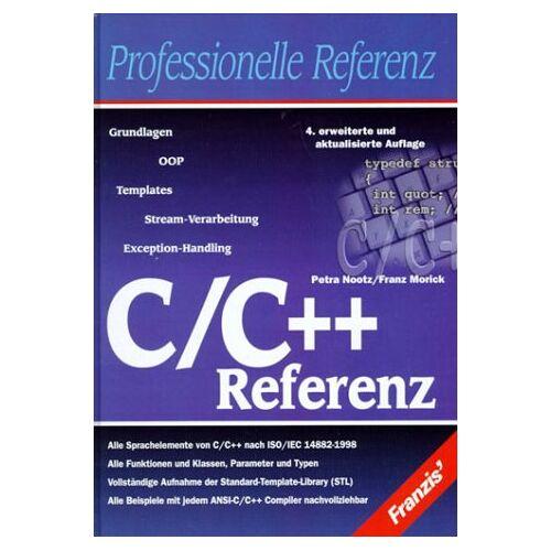 - C/C++ Referenz - Preis vom 19.06.2021 04:48:54 h