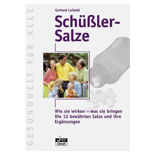 Gerhard Leibold - Schüsslersalze - Preis vom 11.06.2021 04:46:58 h