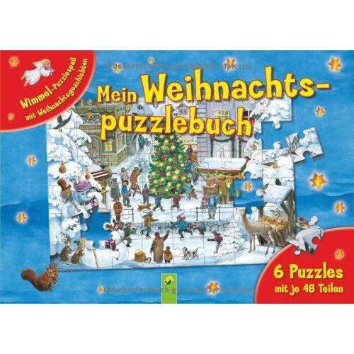 Anne Suess - Mein Weihnachtspuzzlebuch: 6 Puzzles mit je 48 Teilen. Wimmel-Puzzlespaß mit Weihnachtsgeschichten - Preis vom 15.06.2021 04:47:52 h