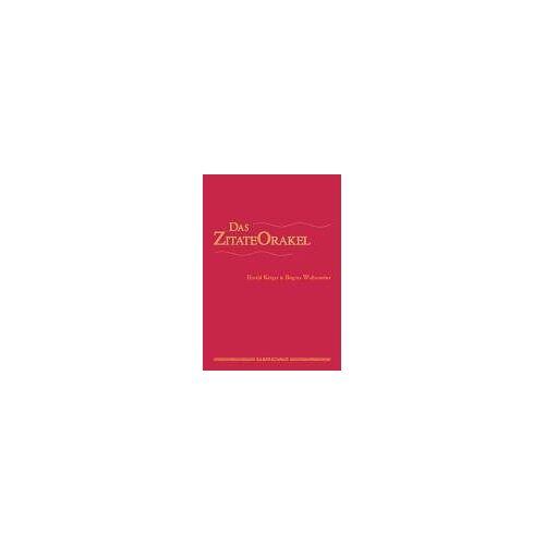 Brigitta Wullenweber - Das Zitate-Orakel. 72 Karten mit Handbuch - Preis vom 19.06.2021 04:48:54 h