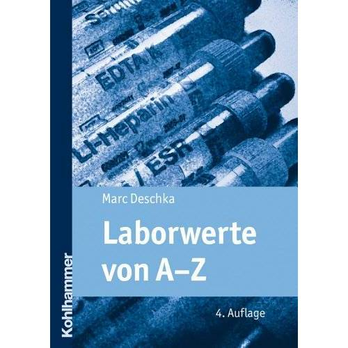 Marc Laborwerte von A-Z - Preis vom 20.06.2021 04:47:58 h
