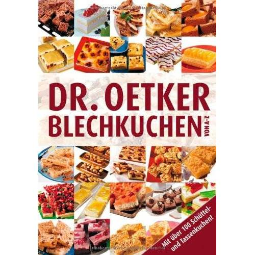 Oetker - Blechkuchen von A-Z - Preis vom 17.05.2021 04:44:08 h