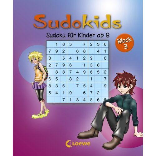 - Sudokids. Sudoku für Kinder ab 8. Block 3 - Preis vom 23.10.2021 04:56:07 h
