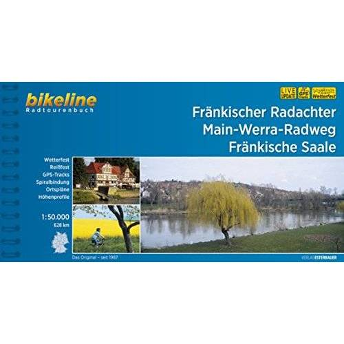 Esterbauer Verlag - Fränkischer Radachter Main-Werra-Radweg Fränkische Saale (Bikeline Radtourenbücher) - Preis vom 22.06.2021 04:48:15 h