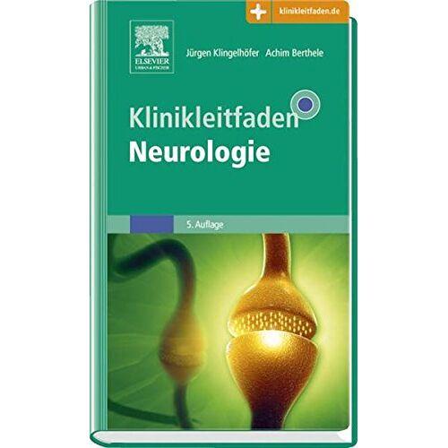 Jürgen Klingelhöfer - Klinikleitfaden Neurologie - Preis vom 19.06.2021 04:48:54 h