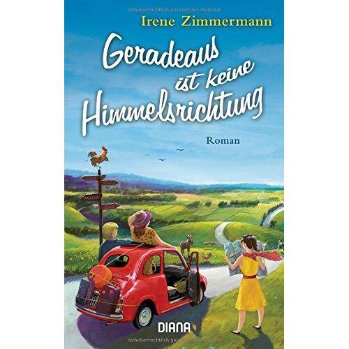 Irene Zimmermann - Geradeaus ist keine Himmelsrichtung: Roman - Preis vom 18.06.2021 04:47:54 h