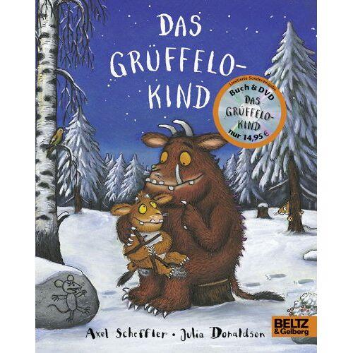 Axel Scheffler - Das Grüffelokind + DVD: Vierfarbiges Pappbilderbuch mit DVD Das Grüffelokind - Preis vom 15.09.2021 04:53:31 h