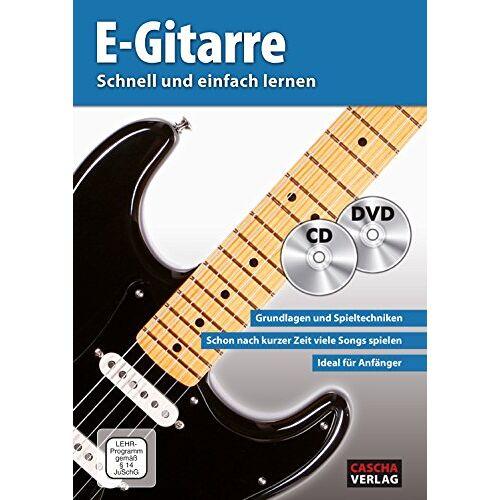 - CASCHA E-Gitarre - Schnell und einfach lernen + CD + DVD - Preis vom 21.06.2021 04:48:19 h