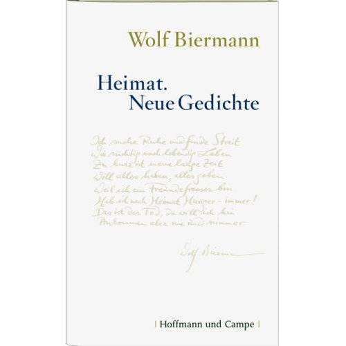 Wolf Biermann - Heimat: Neue Gedichte - Preis vom 16.06.2021 04:47:02 h