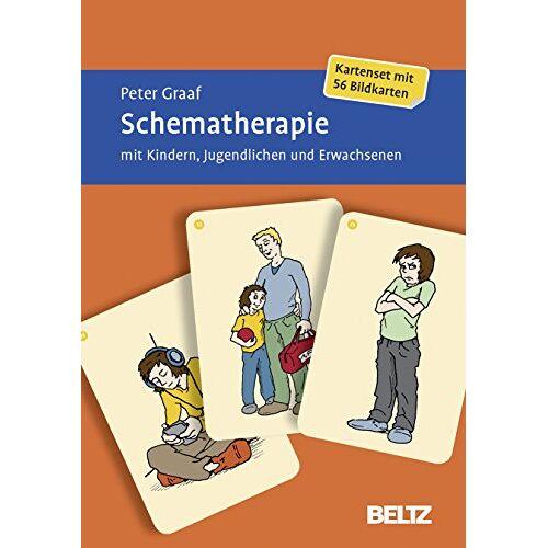 Peter Graaf - Schematherapie mit Kindern, Jugendlichen und Erwachsenen: Kartenset mit 56 Bildkarten. Mit zwölfseitigem Booklet - Preis vom 22.09.2021 05:02:28 h